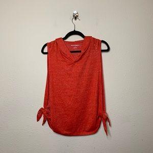 Beachbody Orange Energy Crop Hoodie Shirt